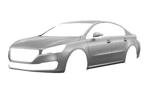 Цвета кузова 508 HYbrid4